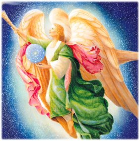 Angel Therapy from Archangel Raphael of Archangels Oracle Cards