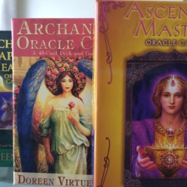 Oracle-card decks