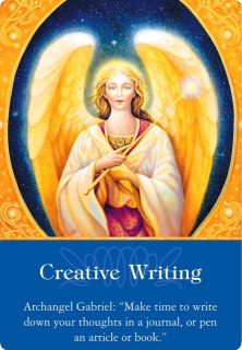 Creative Writing from Archangel Gabriel of the Archangels Oracle Cards