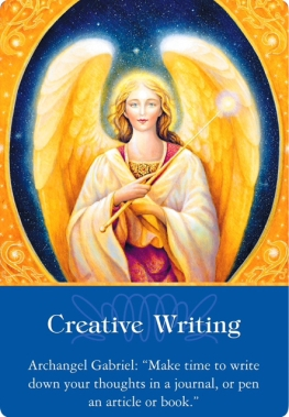 想像力で書く/Creative Writing 大天使ガブリエルより 〜大天使オラクルカード