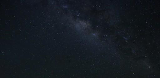 The Milky way at Mauna Kea in Hawaii
