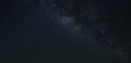 The Milky way at Mauna Kea in Hawaii