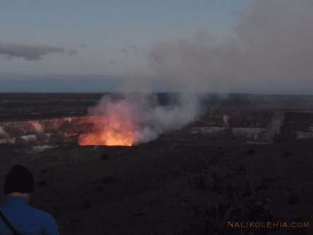 キラウエア火山のハレマウマ火口