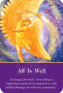 All is well ~ Archangel Oracle Cards