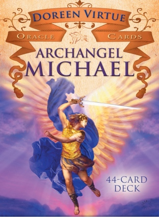 Archangel Michael is a powerful non-denominational angel who provides protection and clear answers to your questions ~Archangel Michael Oracle Cards
