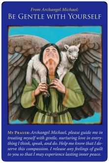 自分に優しく〜大天使ミカエルオラクルカード