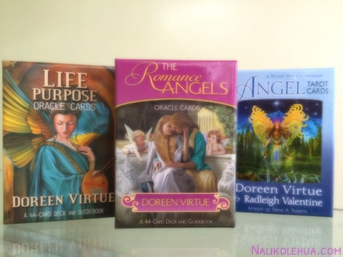 Oracle cards are an ancient, time-honored way to connect with angels and archangels. They're based upon Pythagorean numerology, which starts that all numbers and images vibrate in a mathematically precise manner ~Life Purpose Oracle Cards