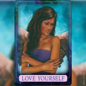自分を愛すること/Love Yourself 〜インディゴエンジェルオラクルカード