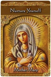 Nurture Yourself/自分をはぐくむ 聖母マリア〜アセンディッドマスターオラクルカード