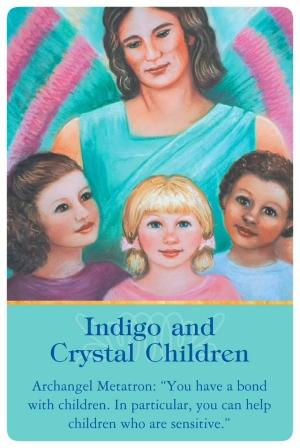 《インディゴ、クリスタルチルドレン》あなたは子どもと深い結びつきがあり、特に繊細な子たちを助けることができるでしょう〜大天使メタトロンより