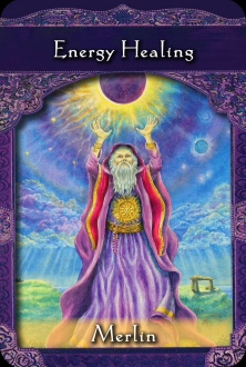 Energy Healing from Merlin of the Ascended Masters Oracle Cards