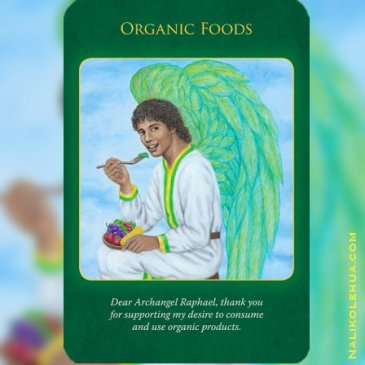 Organic Foods from Archangel Raphael Healing Oracle Cards