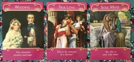 Wedding / True Love / Soul Mate 〜ロマンスエンジェルオラクルカード