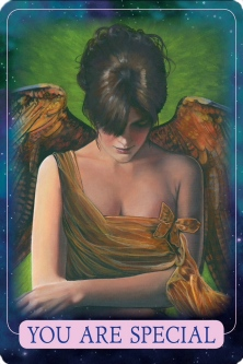 You are special from Indigo Angel Oracle Card