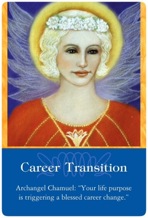 Career Transition from Archangel Chamuel of the Archangels Oracle Cards