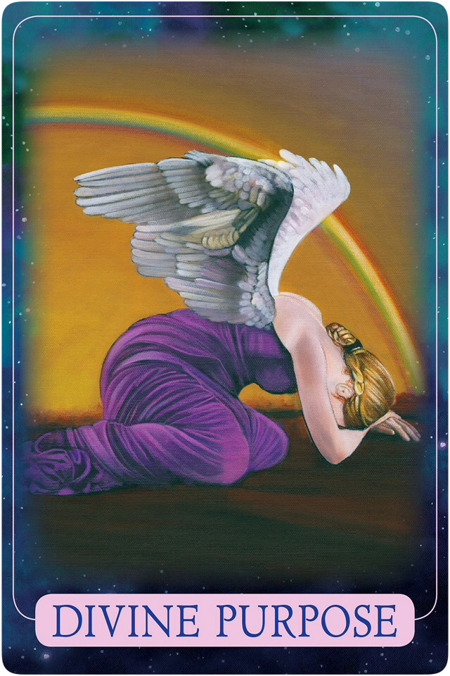 Divine Purpose from Indigo Angel Oracle Cards