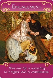 Engagement of the Romance Angels Oracle Cards