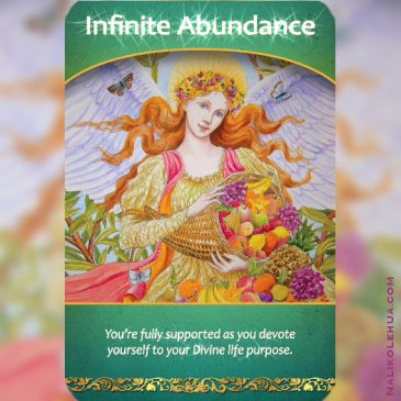 Infinite Abundance ~Life Purpose Oracle Cards