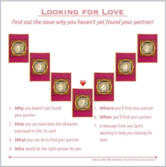 Looking for love spread ~Healing Readings with Nalikolehua