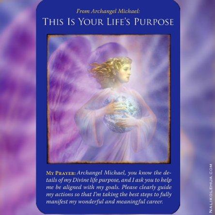 人生の目的/This is Your Life Purpose 〜大天使ミカエルオラクルカードより
