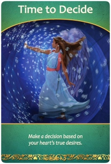 Time to Decide ~Life Purpose Oracle Cards