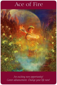 Ace of Fire ~Angel Tarot Cards