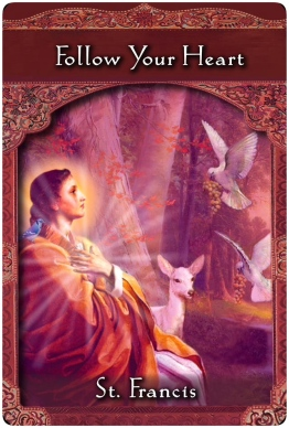 Follow Your Heart ~Ascended Master Oracle Cards