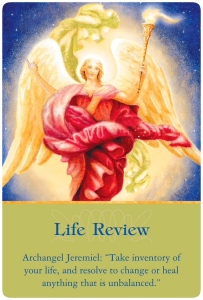 Life Review ~Ascended Master Oracle Cards