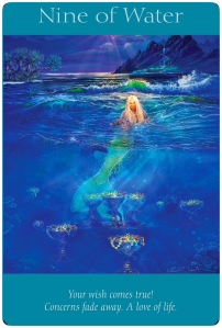 Nine of Water ~Angel Tarot Cards
