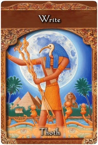 Write from Thoth ~Ascended Master Oracle Cards