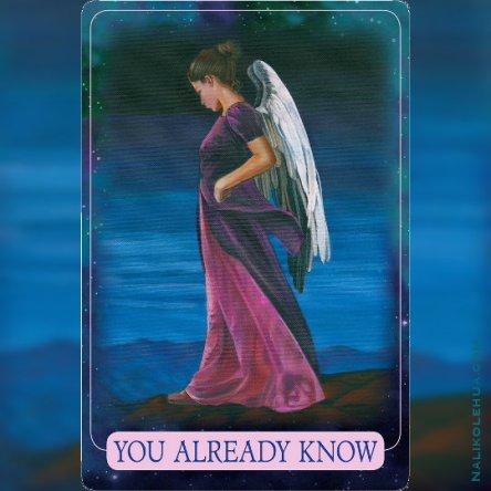 You Already Know ~Indigo Angel Oracle Cards