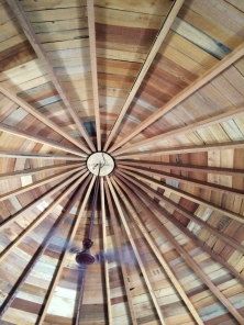 Ceiling of a mud hut