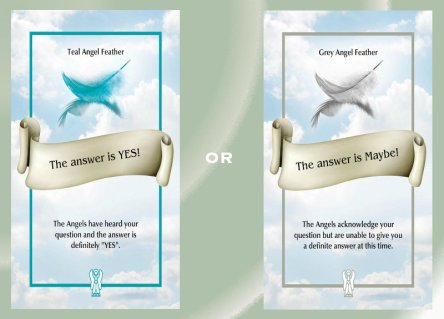 Yes or Maybe ~ The Angel Feather Oracle