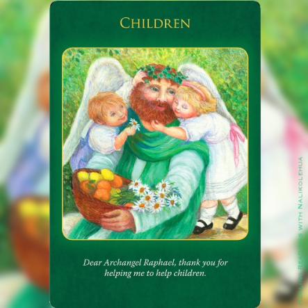 子ども 〜大天使ラファエルヒーリングオラクルカード