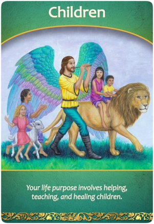Children from the Life Purpose Oracle Cards