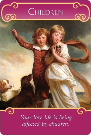 Children from the Romance Angels Oracle Cards