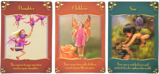 Daughter, Children, and Son from the Magical Messages from the Fairies
