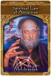 Spiritual Law of Attraction from Melchizedek ~ the Ascended Masters Oracle Cards