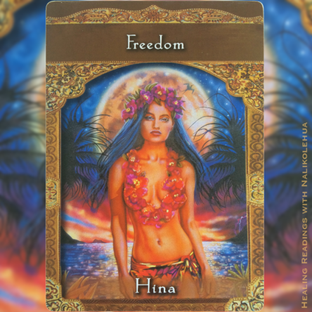 Freedom from Hina ~ Ascended Masters Oracle Cards
