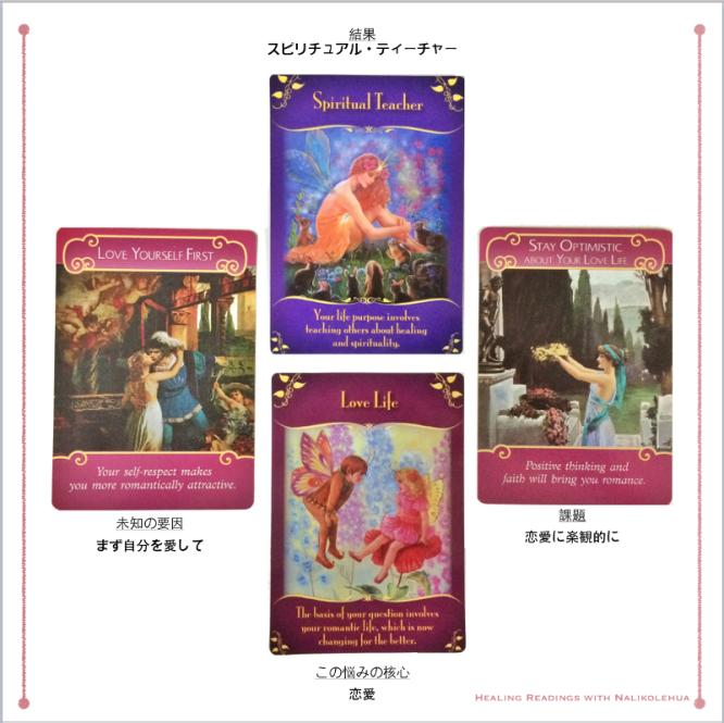 ロマンスエンジェルオラクルカードとマジカルフェアリーオラクルカードの二組でのエンジェルカードリーディング
