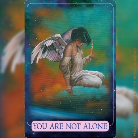 You Are Not Alone/あなたは一人じゃない 〜インディゴエンジェルオラクルカード