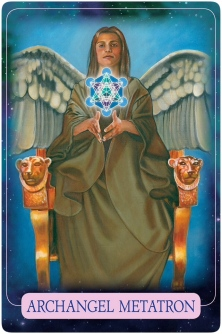 Archangel Metatron of the Indigo Angel Oracle Cards