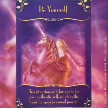 自分らしく Be Yourself 〜マジカルフェアリーオラクルカード