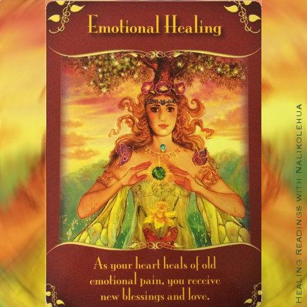 感情の癒し/Emotional Healing 〜マジカルフェアリーオラクルカード