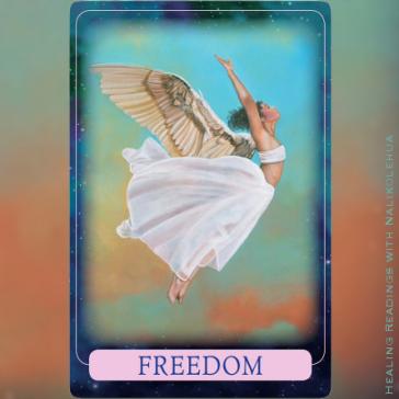 Freedom 自由 〜インディゴエンジェルオラクルカード