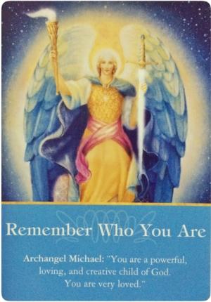 本当の自分を思い出して/Remember Who You Are 〜大天使オラクルカード