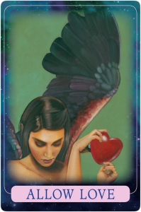 Allow Love ~ Indigo Angel Oracle Cards