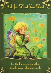 Ask for What You Want ~ Magical Messages from the Fairies
