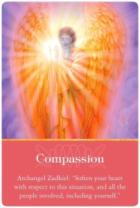Compassion ~ Archangel Oracle Cards