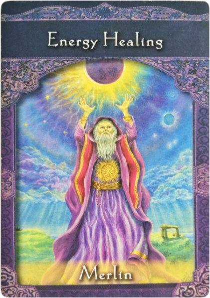 Energy Healings from Merlin ~Ascended Masters